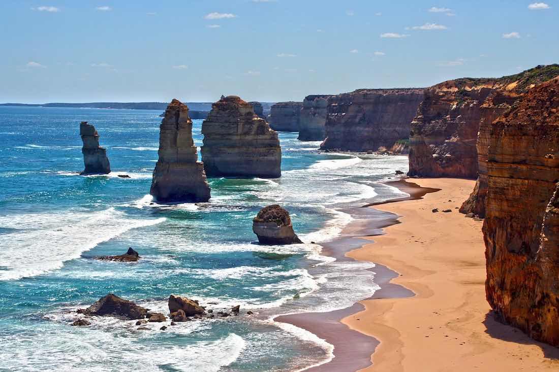 great ocean road 12 apoštolů