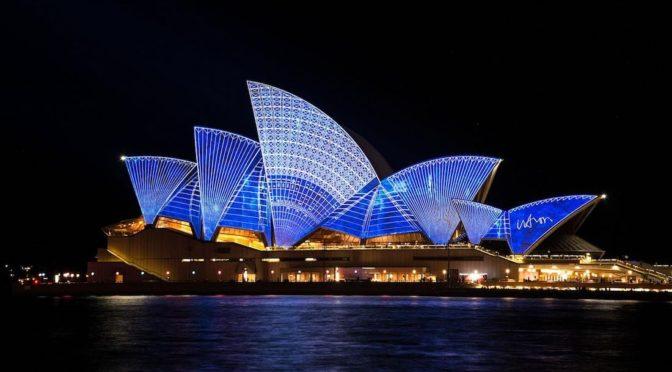 Vivid Light Festival v Sydney