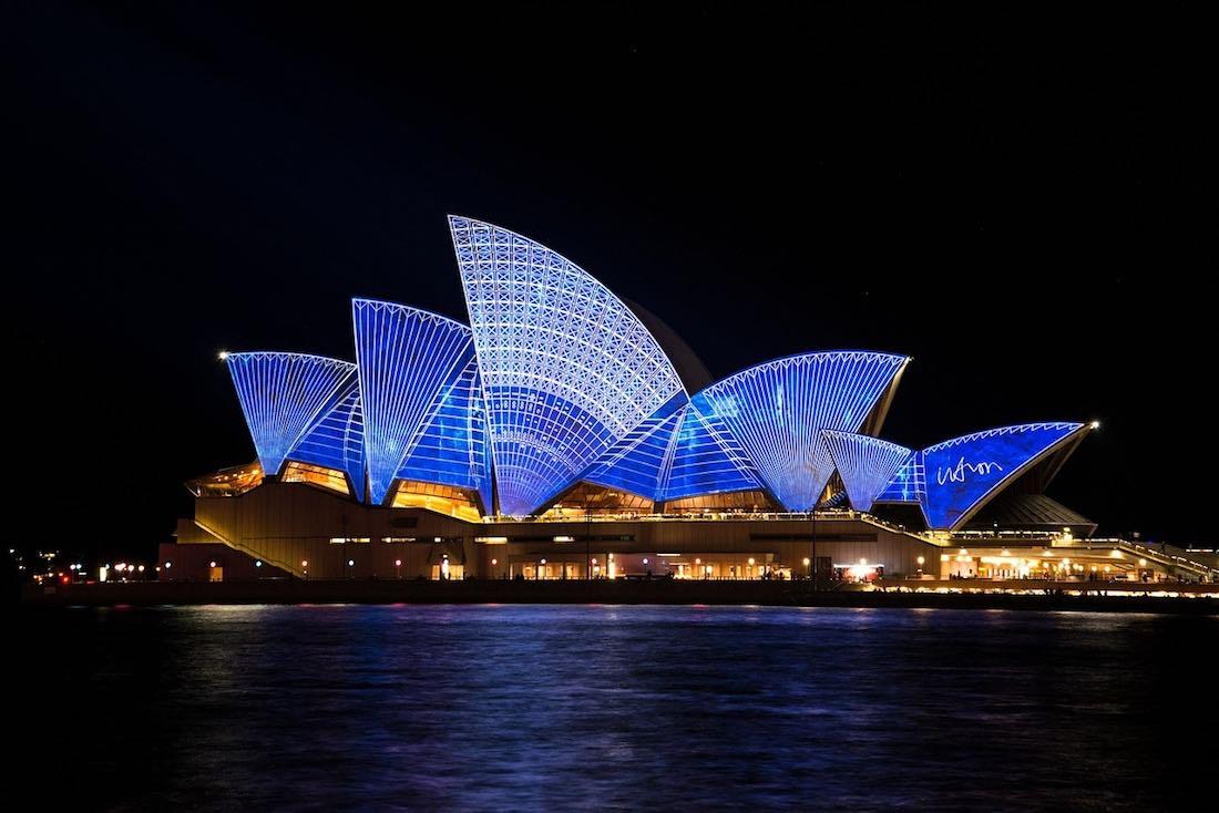 opera house sydney vivid festival
