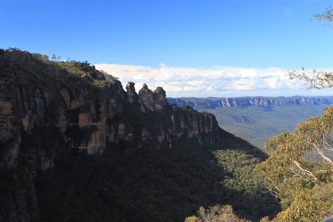 blue mountains sydney austrálie