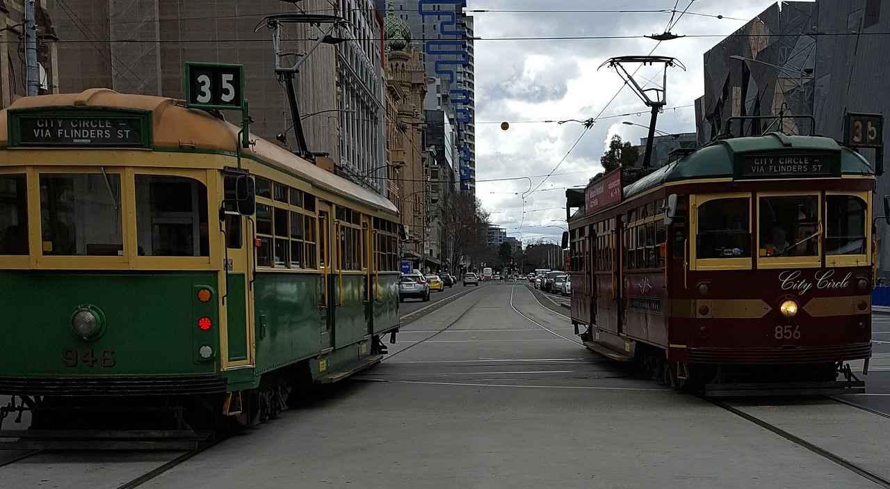 Melbourne-city-tram