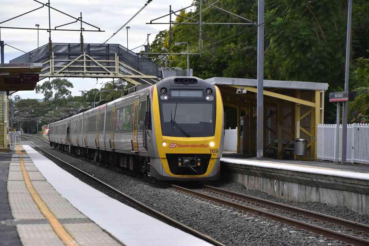 vlak v Brisbane