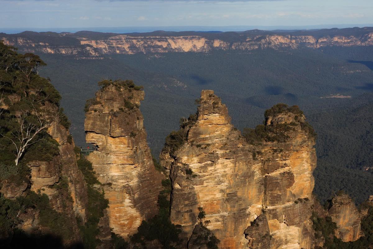 národní park Blue Mountains-Tři sestry