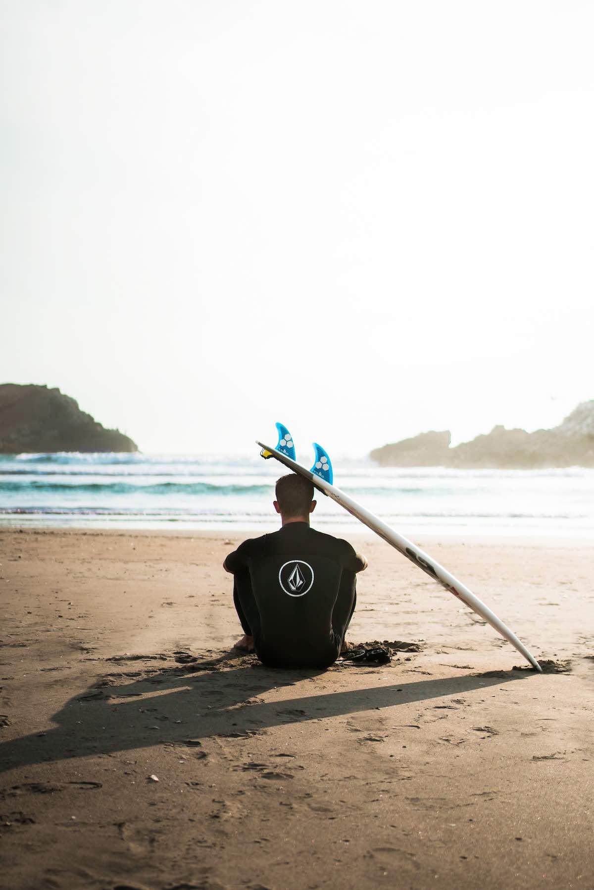 surfování-pláž