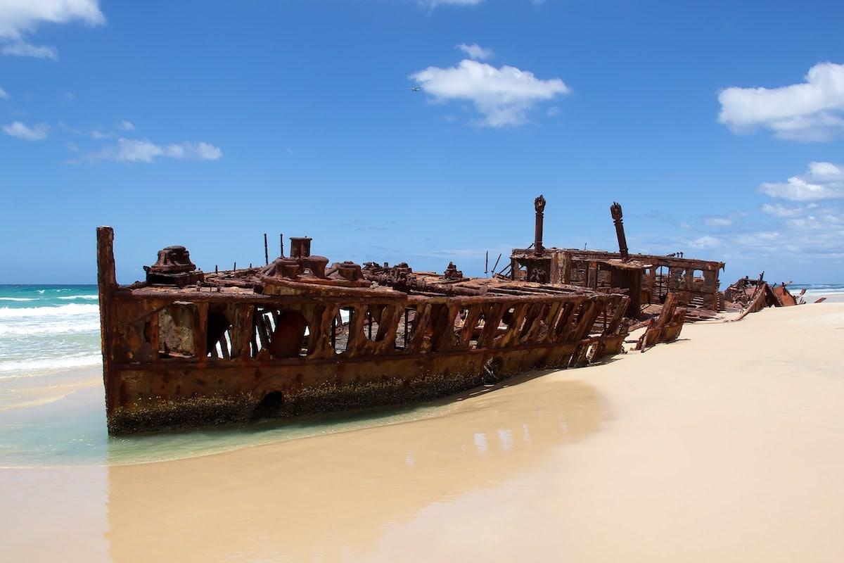 nejlepší australské pláže-75 Miles Beach