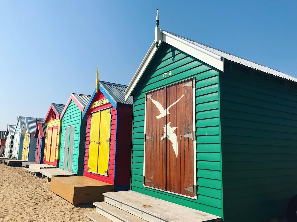 nejlepší australské pláže-Brighton Beach