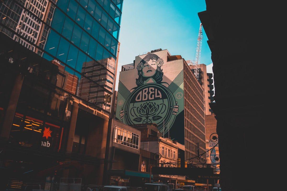 Street art Sydney
