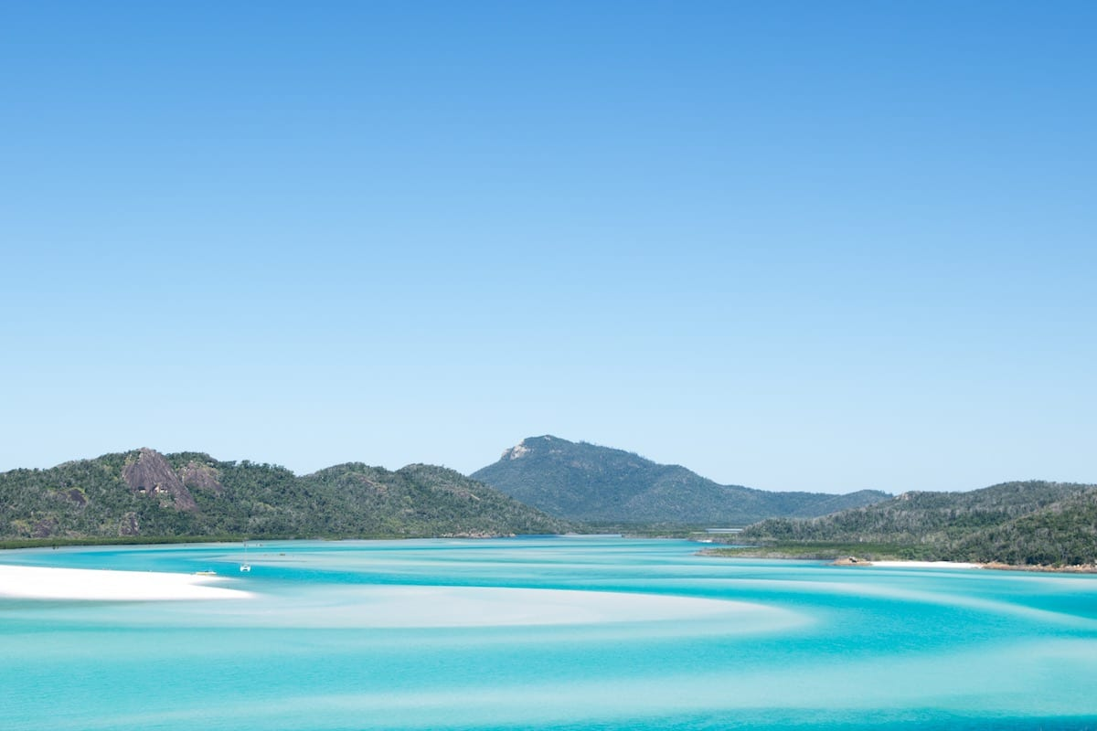 nejlepší australské pláže-Whitehaven Beach