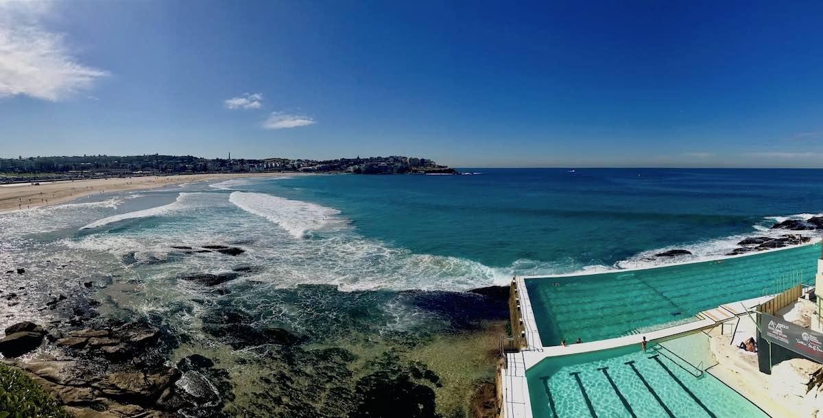nejlepší australské pláže-Bondi