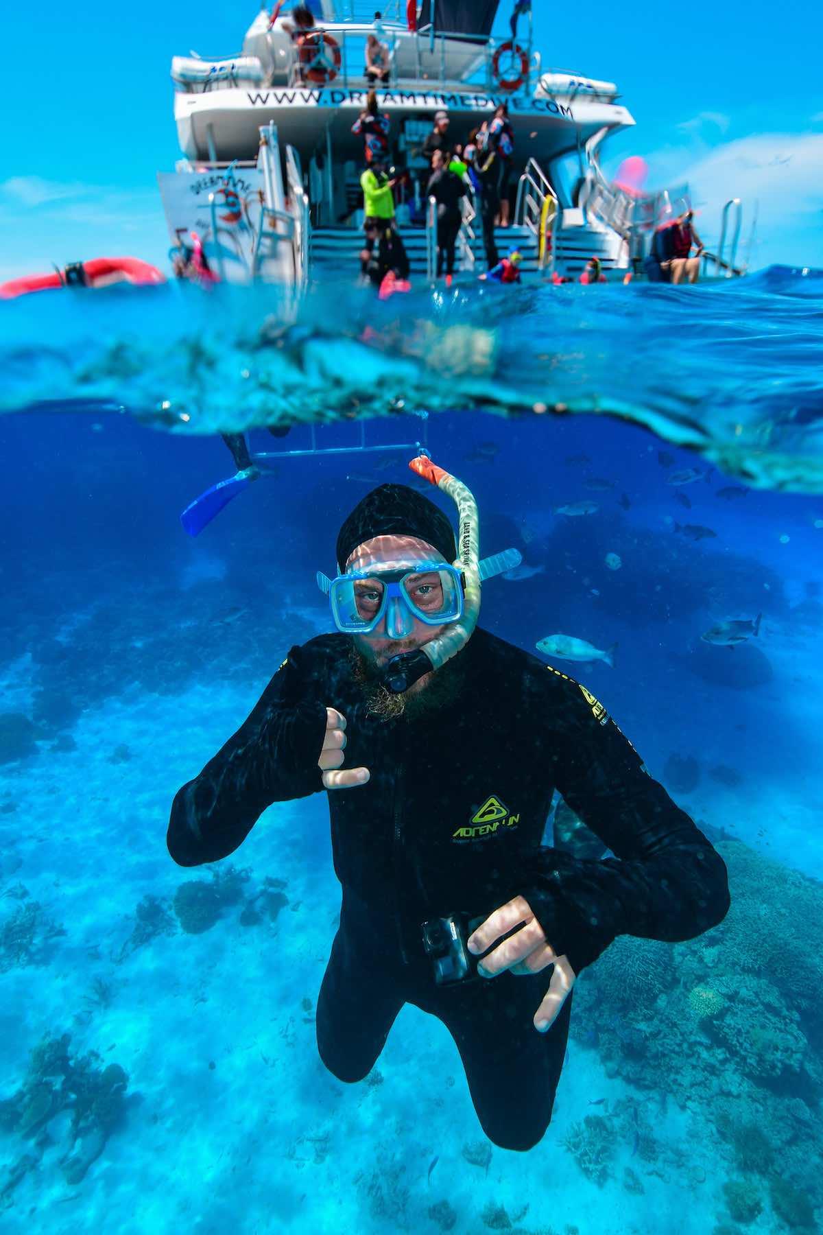 rozhovor s Davidem-potápění