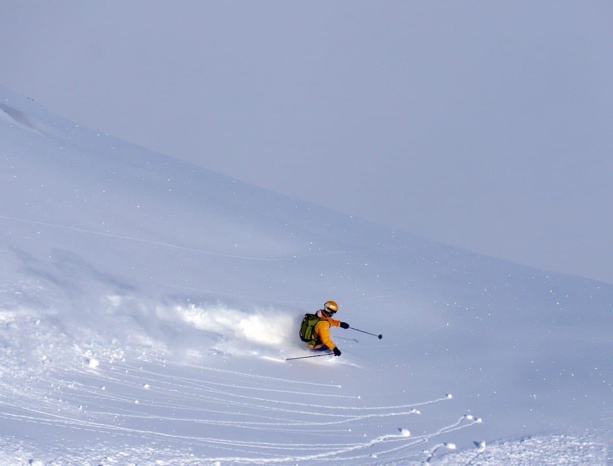 lyžování v Austrálii - freeride
