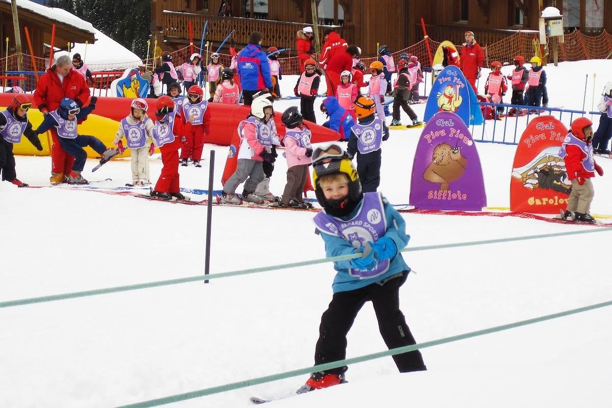 lyžování v Austrálii - škola