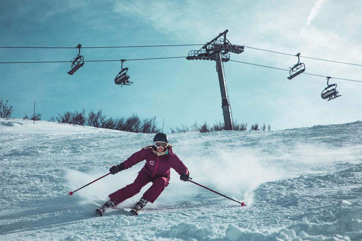 sport v Austrálii-lyžování