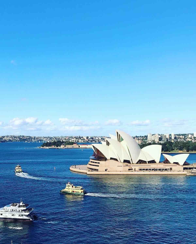 Opera House z mostu