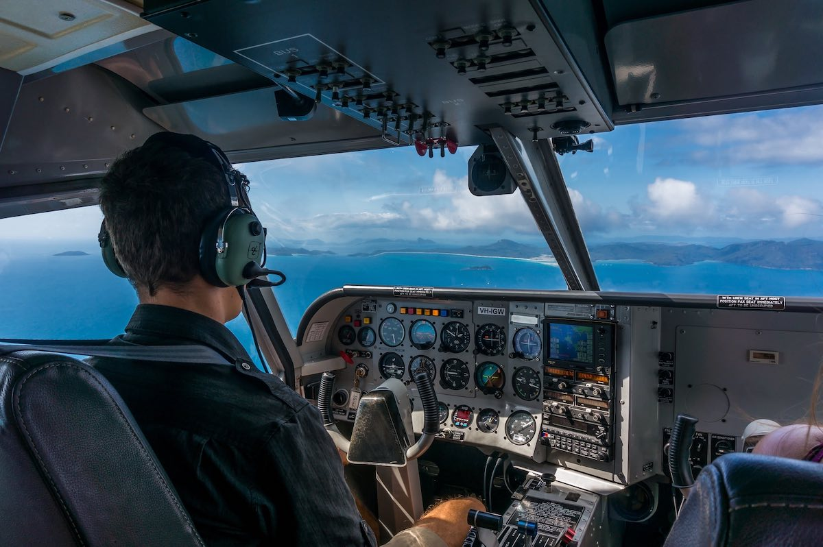 Whitsundays-letadlo